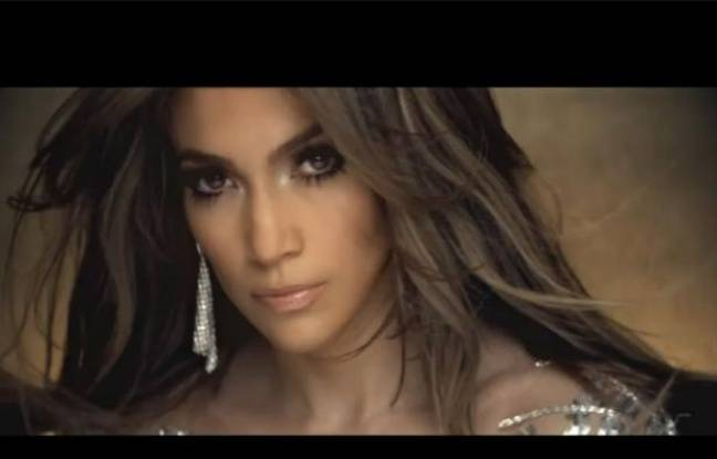 Capture d'écran du clip «On the floor» de Jennifer Lopez.