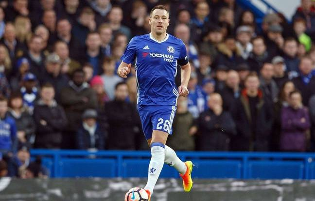 John Terry lors d'un match entre Chelsea et Peterborough le 8 janvier 2017.