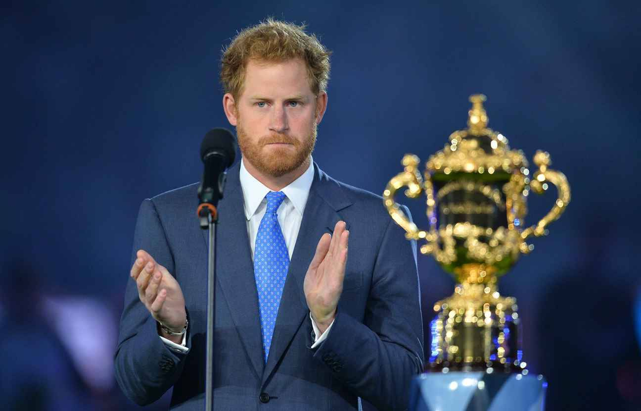 Video coupe du monde de rugby le prince harry en visite - Place pour la coupe du monde de rugby ...