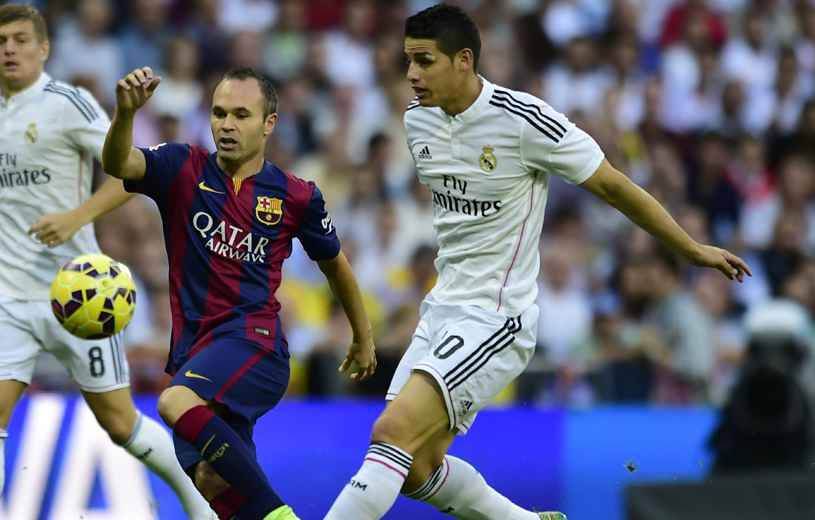 fc barcelone contre real madrid