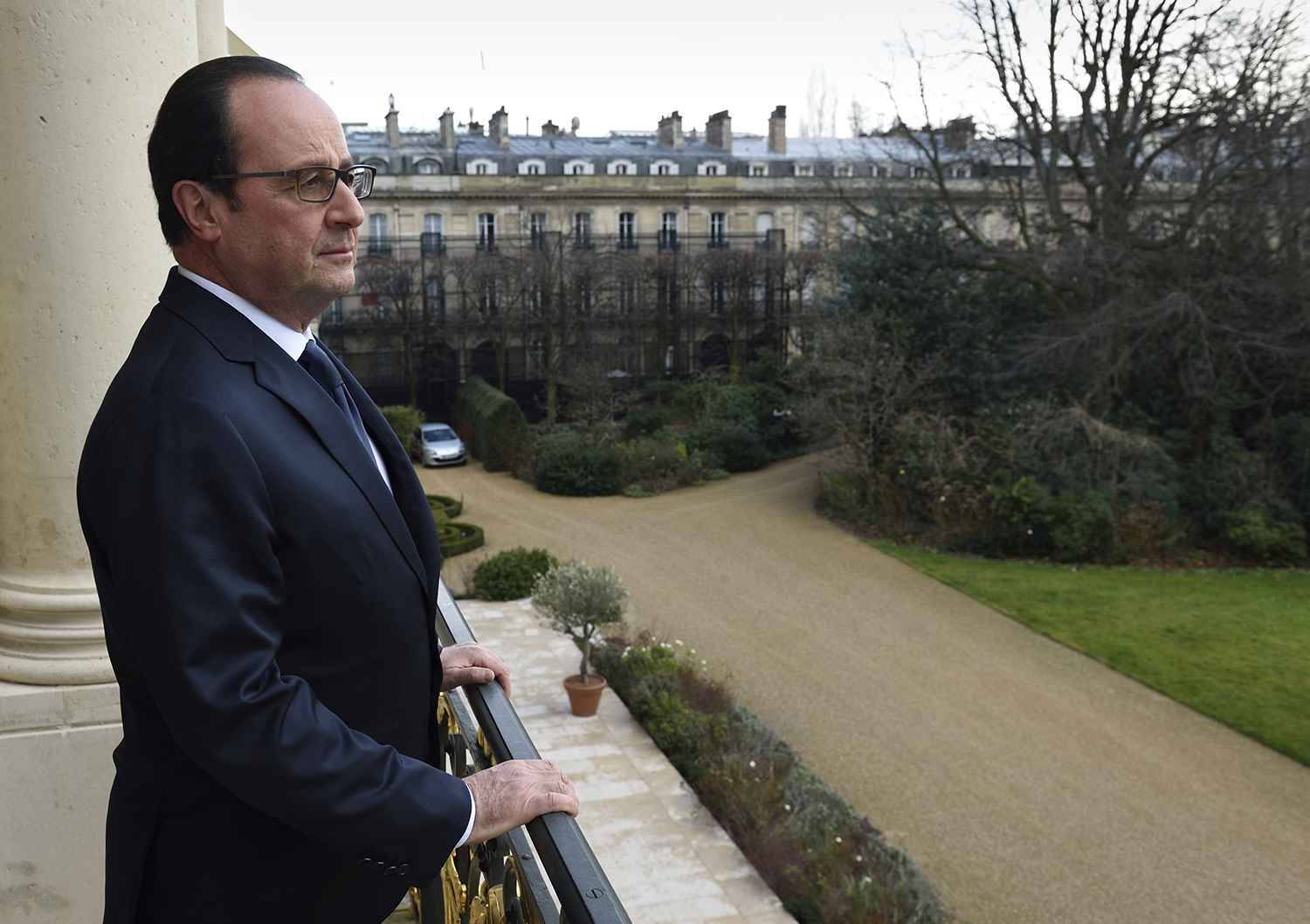 Passation de pouvoir Hollande-Macron — France