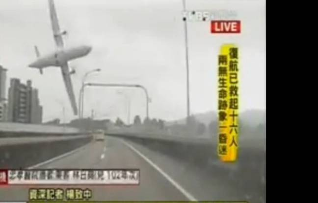 VIDEO - Crash d'un avion de TransAsia fait au moins 25 morts