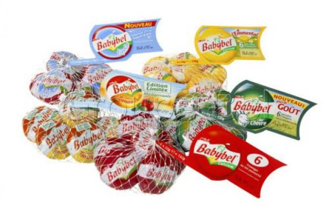 Gamme de 5 filets de Mini Babybel