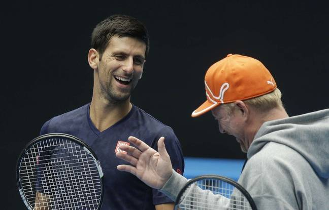 Novak Djokovic et Boris Becker, en 2016