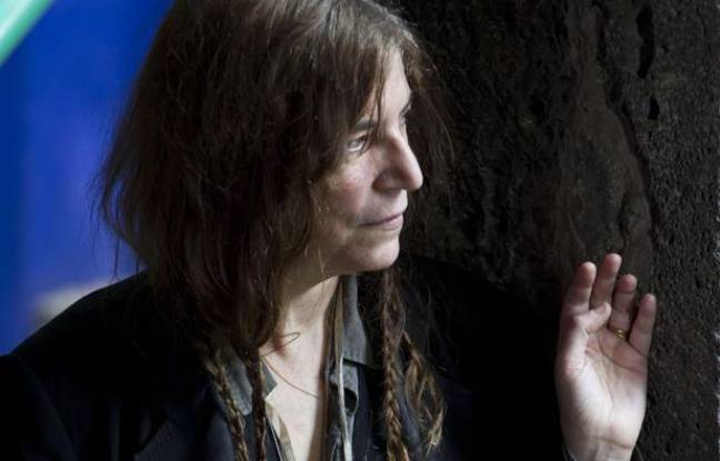 Patti Smith lors d'une séance photo le 4 mai 2012.
