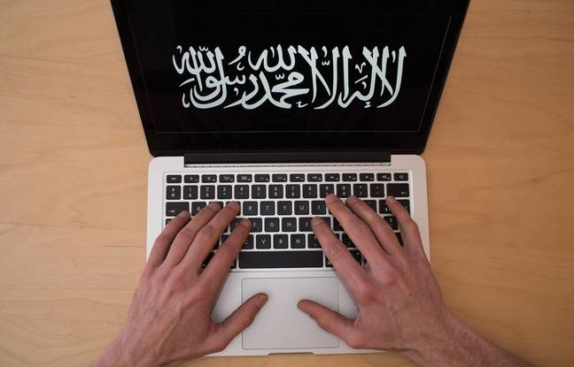 Illustration de la propagande djihadiste de Daesh sur Internet.