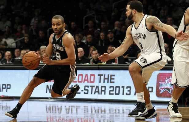 Nba tony parker meilleur joueur de la ligue for Interieur sport tony parker
