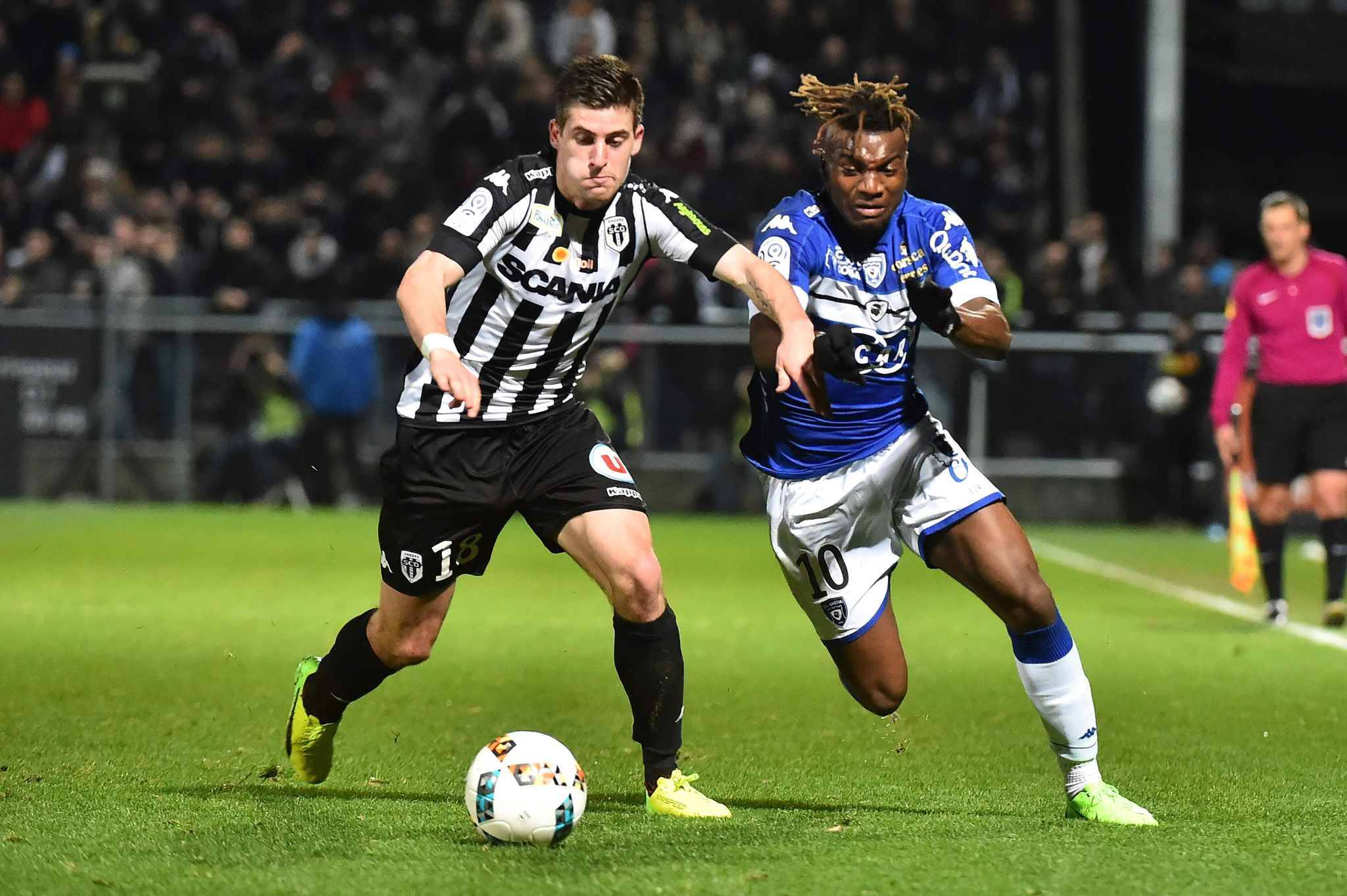 Ligue 1 allan saint maximin tacle l asse o il a eu l for Garage santamaria saint maximin
