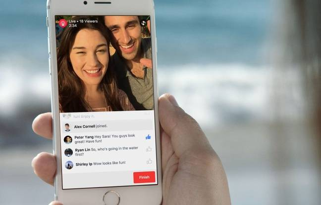 Facebook a lancé son service de streaming en direct Live Video le 3 décembre 2015.