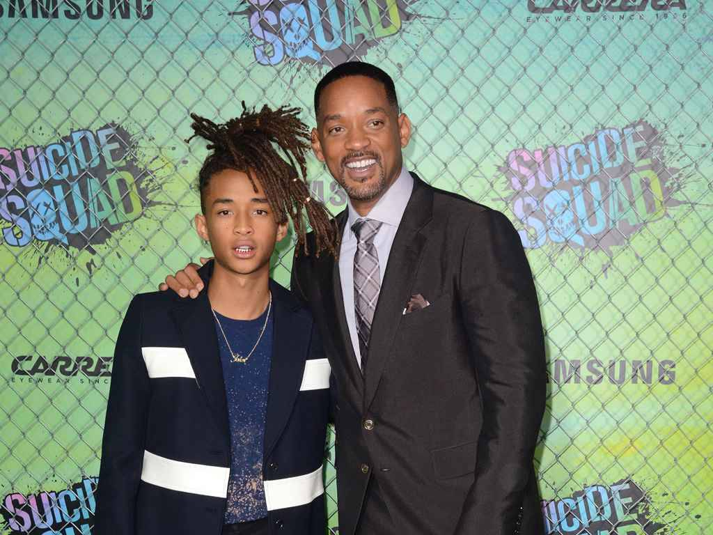 Will Smith a coupé les cheveux de son fils, Jaden Smith