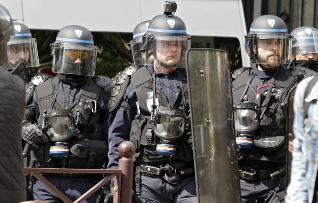 Lille aucun incident mais une dizaine d 39 interpellations for Police nationale lille