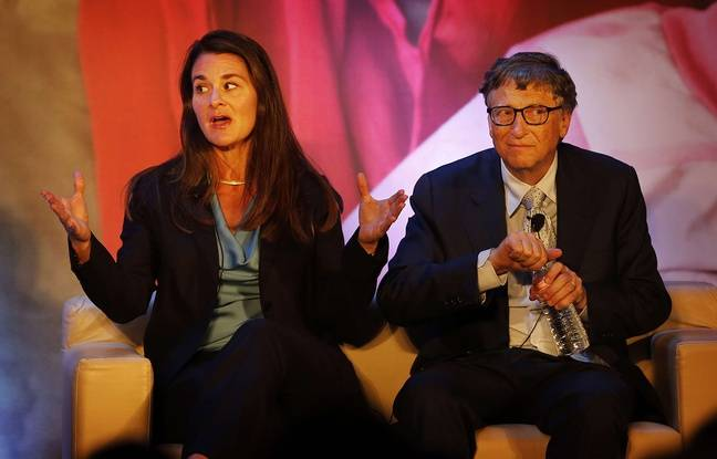 Bill et Melinda Gates à New Delhi en Inde, le 18 septembre 2014.
