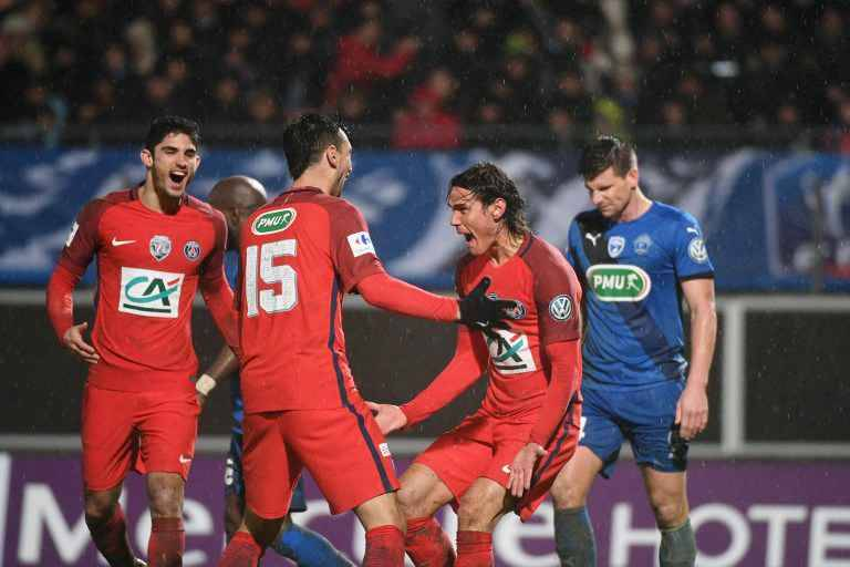 Coupe de france le psg affrontera avranches en quarts de - Tirage quart de finale coupe de france ...