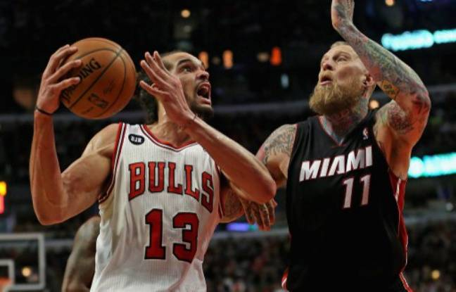 Video nba joakim noah et les bulls coeurent lebron for Interieur sport lebron james