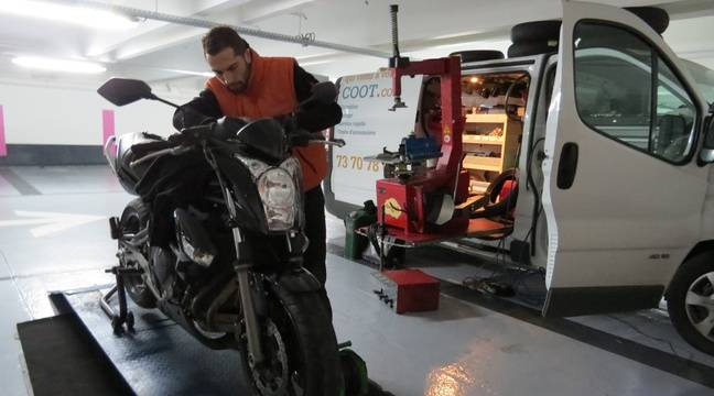 Paris izyscoot le garage pour scooters et motos qui for Garage reparation strasbourg
