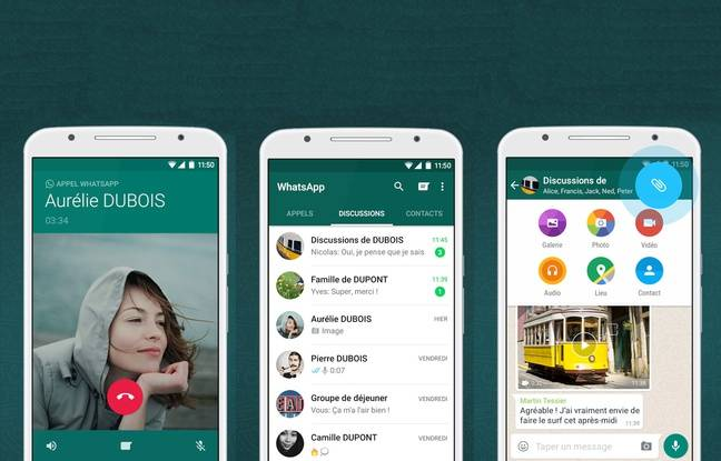 La messagerie WhatsApp a plus d'un milliard d'utilisateurs.