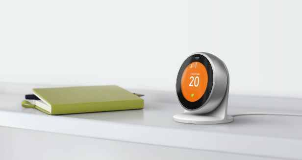 nest le thermostat connect de 3e g n ration prend l eau. Black Bedroom Furniture Sets. Home Design Ideas