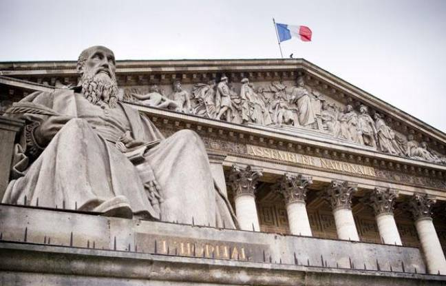 Le 10 mai 2012. Illustration de l'Assemblée Nationale.