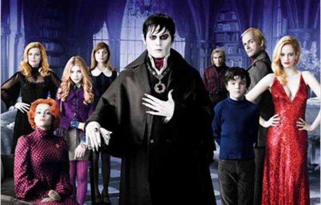 Dark Shadows, de Tim Burton.