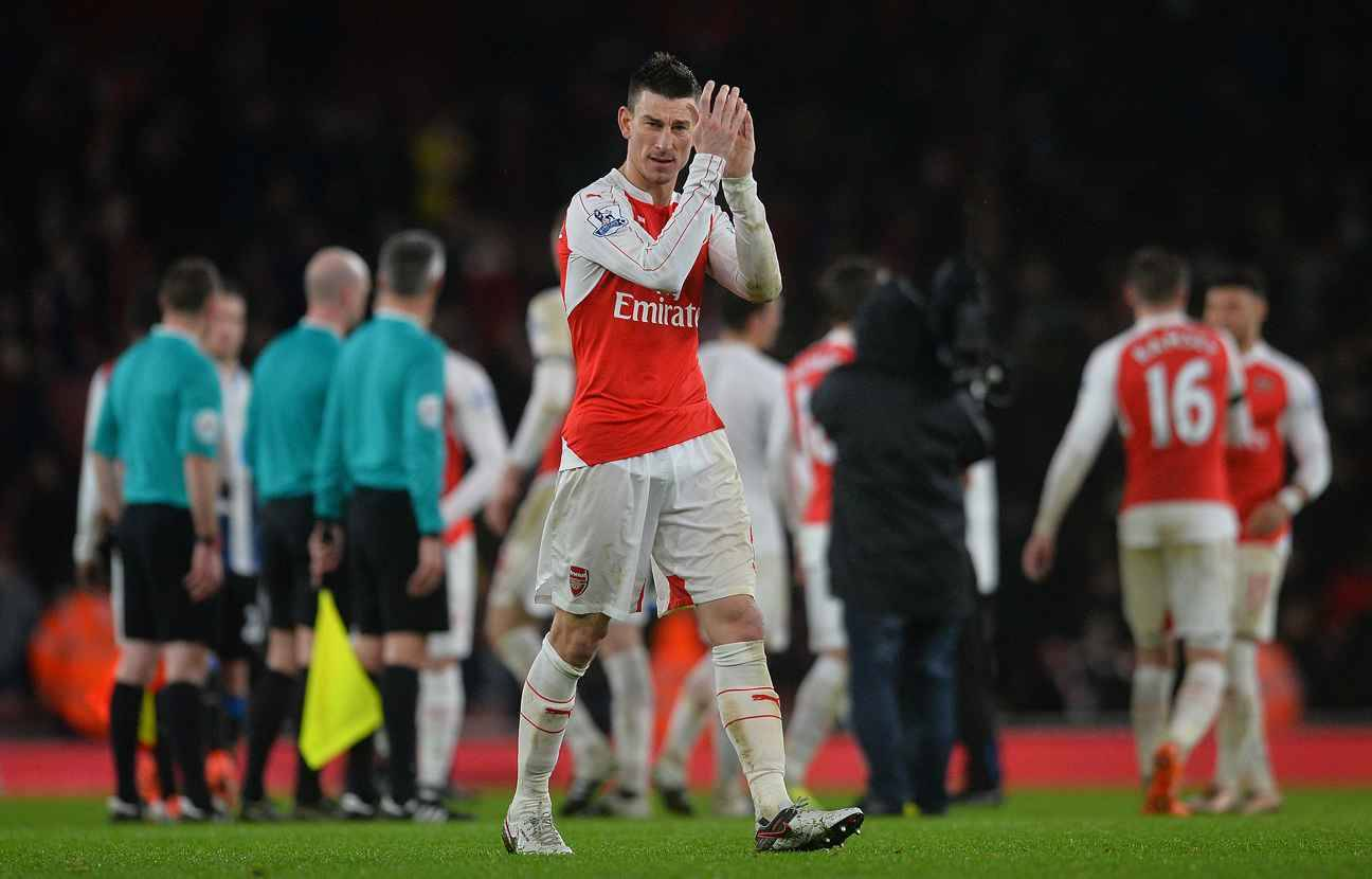 Disappointing news on Laurent Koscielny on the way?