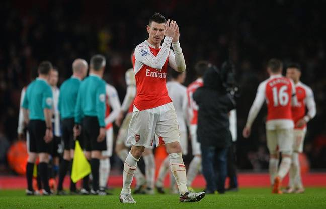 Le défenseur d'arsenal Laurent Koscielny, le 2 janvier 2016 à l'Emirates Stadium.