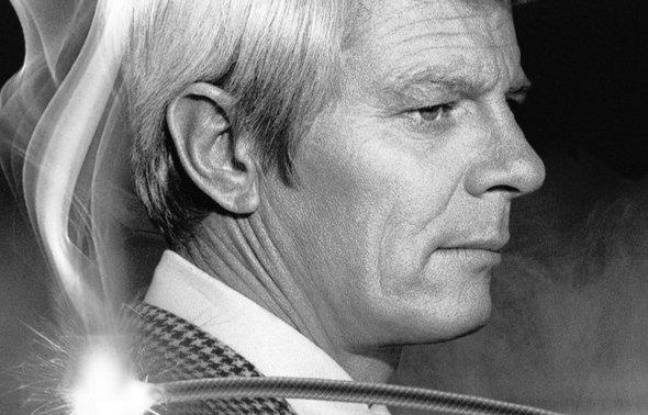L'acteur Peter Graves, sur un DVD de Mission Impossible