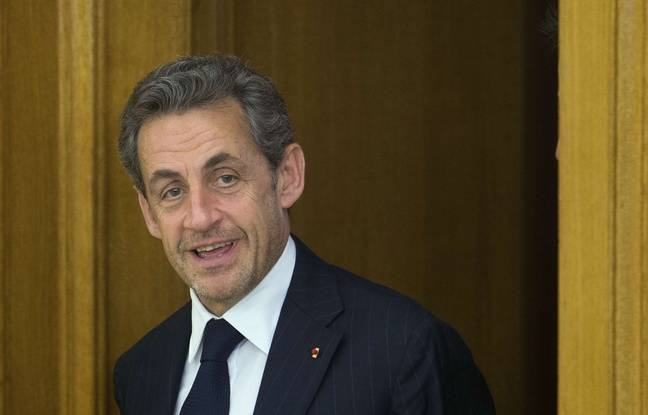 Nicolas Sarkozy, le 27 mai 2014 à Madrid, en Espagne (AP Photo/Paul White)