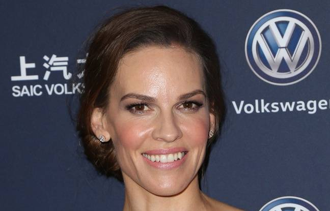 L'actrice Hilary Swank à Los Angeles