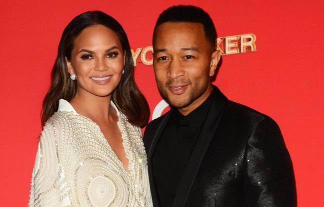 Chrissy Teigen et son mari John Legend