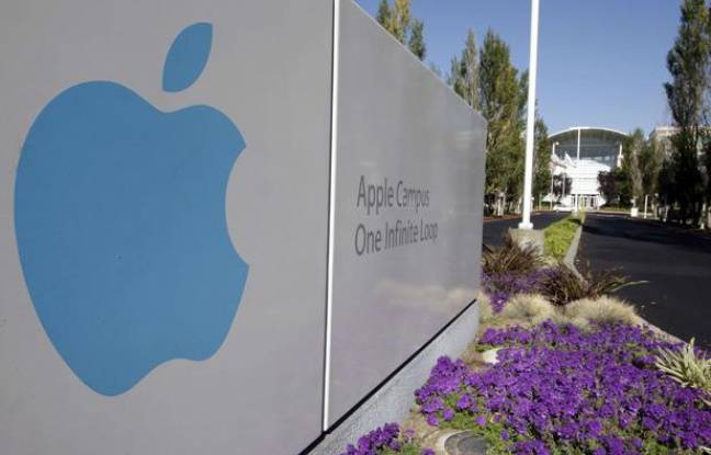Le siège d'Apple Inc. à Cupertino en Californie.