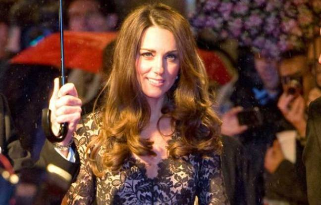 Kate Middleton en janvier 2012.