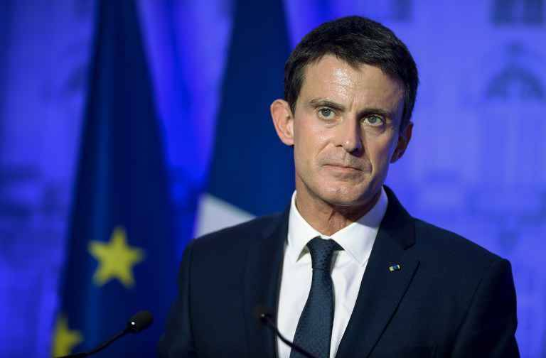 Manuels Valls absent au meeting de La Villette —