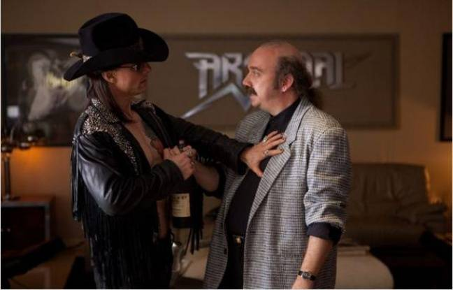 Tom Cruise et Paul Giamatti dans «Rock Forever».
