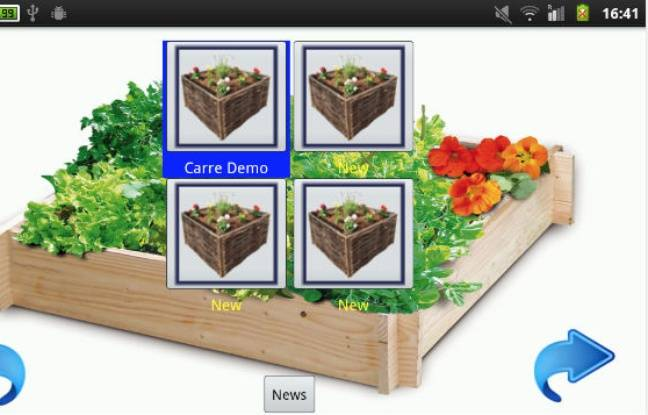 Six applications pour faire fleurir le printemps for Fleurir son jardin