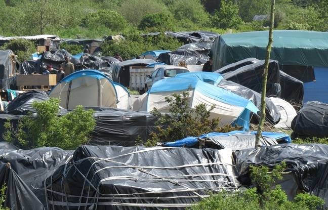 La nouvelle «jungle» à Calais