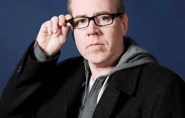 Bret Easton Ellis, au festival America en septembre 2010 à Vincennes, France