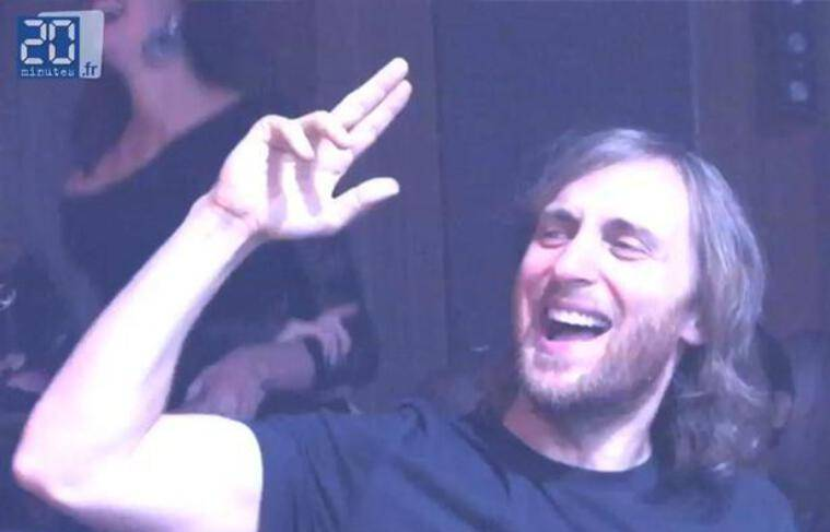 David Guetta à Cannes, le 22 mai 2012.
