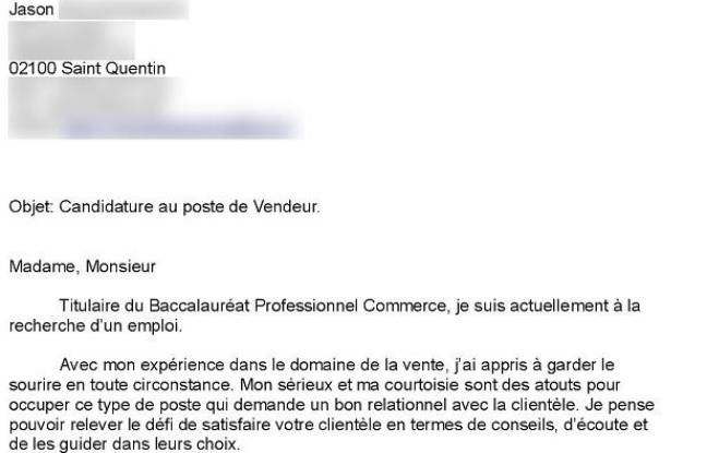 lettre de motivation job  u00e9tudiant sncf