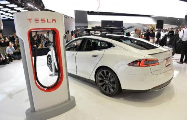 tesla model 3 une voiture lectrique bon march produite d 39 ici deux ans. Black Bedroom Furniture Sets. Home Design Ideas