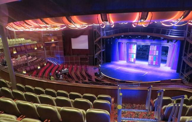 Le théâtre de l'Harmony of the seas