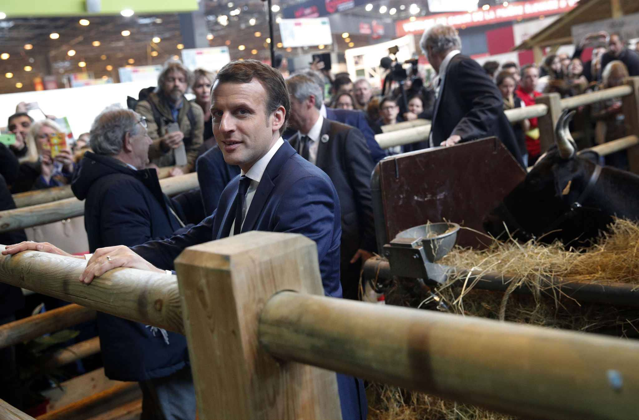 video en visite au salon de l 39 agriculture emmanuel