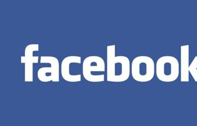 Le logo officiel de Facebook.