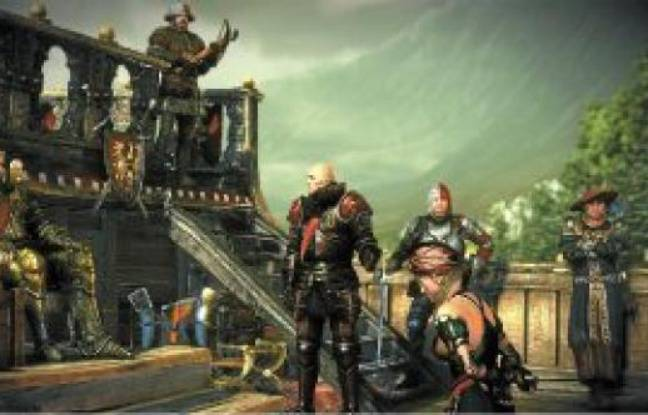 Une scène extraite de « The Witcher 2 : Assassins of Kings Enhanced Edition » sur Xbox 360.
