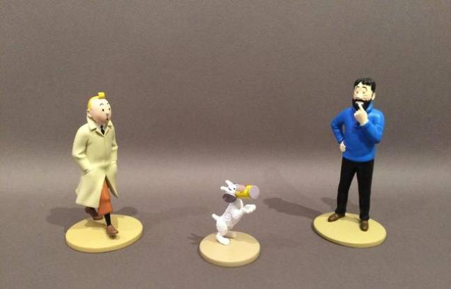 toulouse pr s de 200 figurines de tintin vendues aux ench res samedi. Black Bedroom Furniture Sets. Home Design Ideas