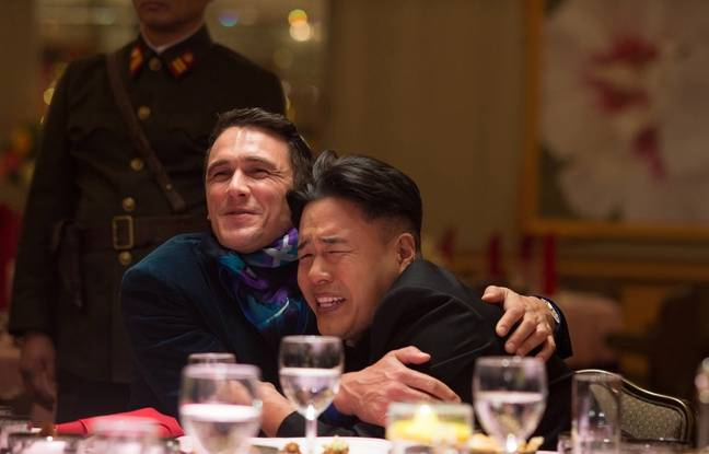 James Franco et Randall Park dans «The Interview»