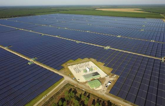 Cestas France  city images : ... de la plus grande centrale photovoltaïque d'Europe à Cestas