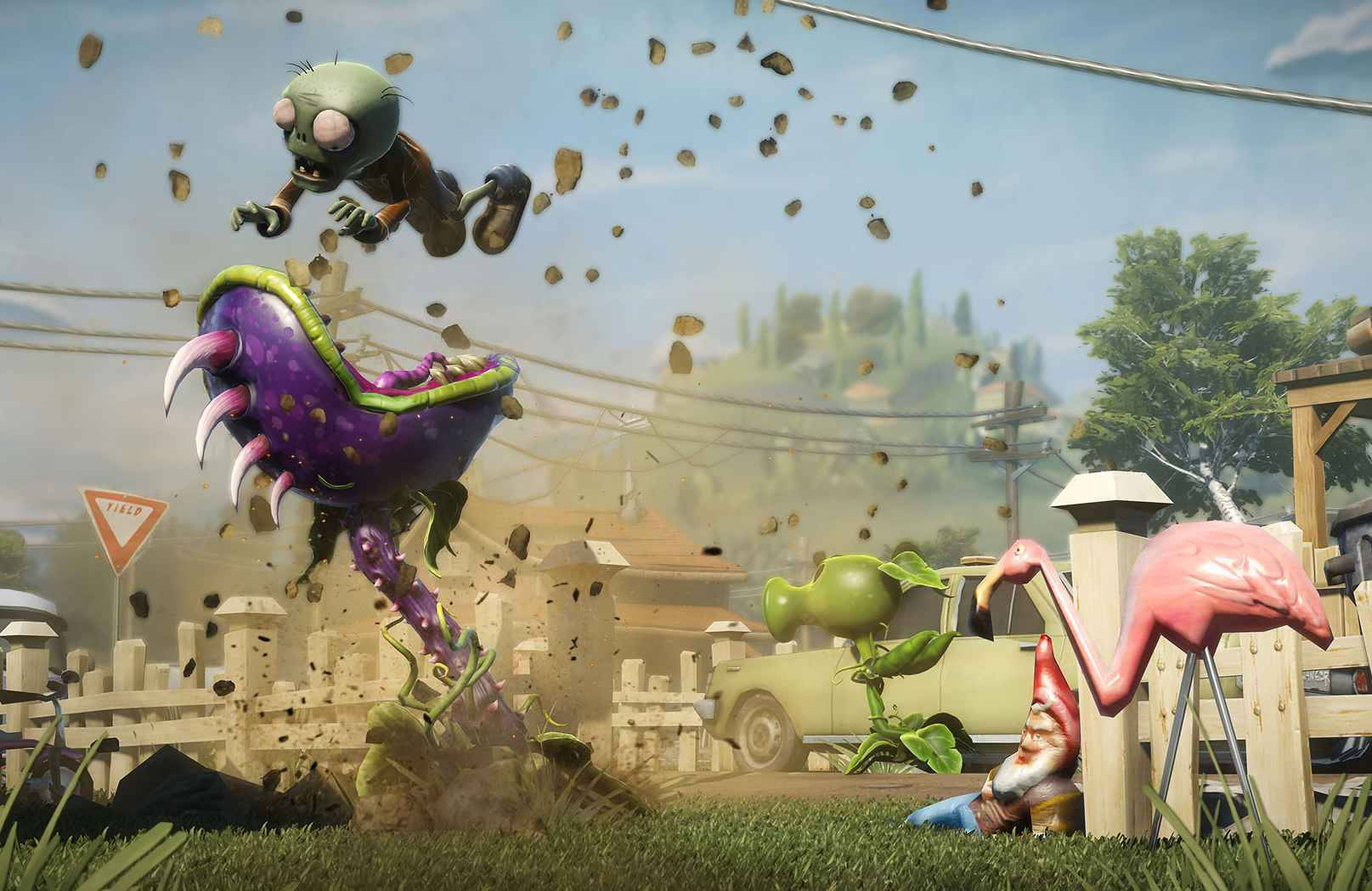 Plants vs zombies garden warfare un sympathique for Plante vs zombie garden warfare 2