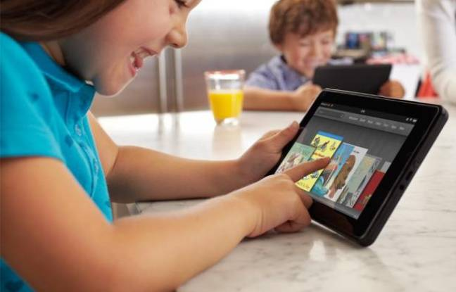 Le Kindle Fire, la tablette de 7 pouces d'Amazon.