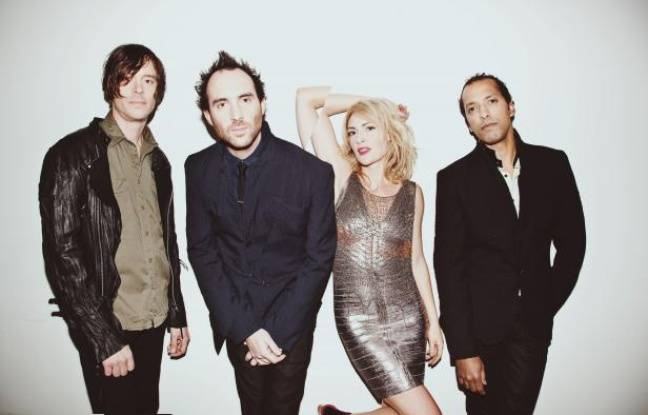 Le groupe canadien Metric.