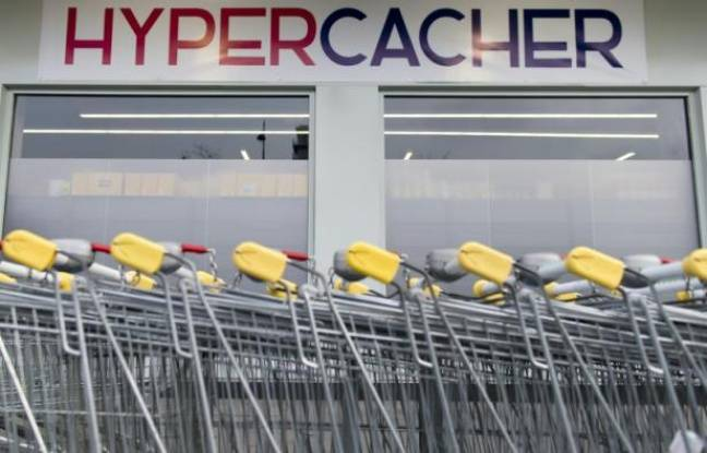Le magasin Hyper Cacher à Paris le 15 mars 2015